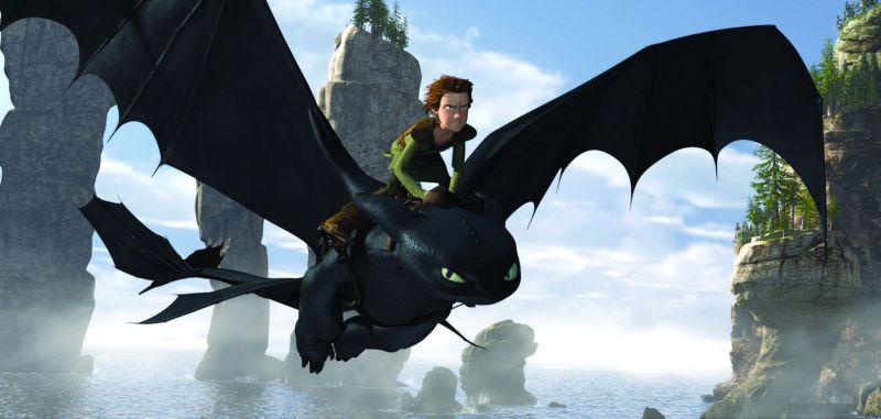 Fotogalerie ke článku v kině: 3d pohádka jak vycvičit draka