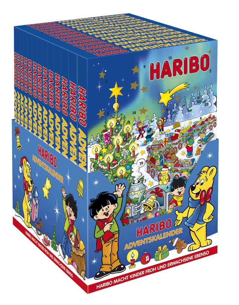 haribo adventni kalendar Vyhrajte a ochutnejte sladké vánoční překvapení od společnosti  haribo adventni kalendar
