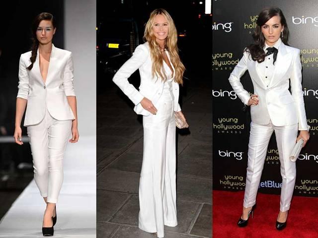 ada519aa0b00 Bílý kalhotový kostým prostě musíte mít! -