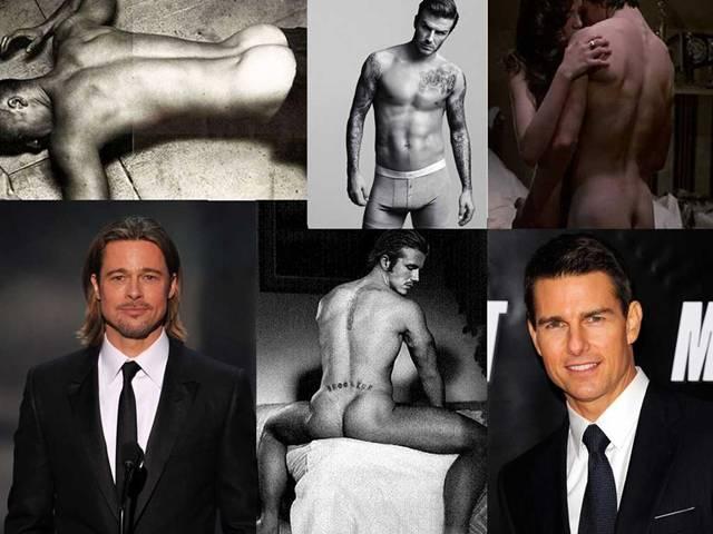 fotky nahého mužského modelu