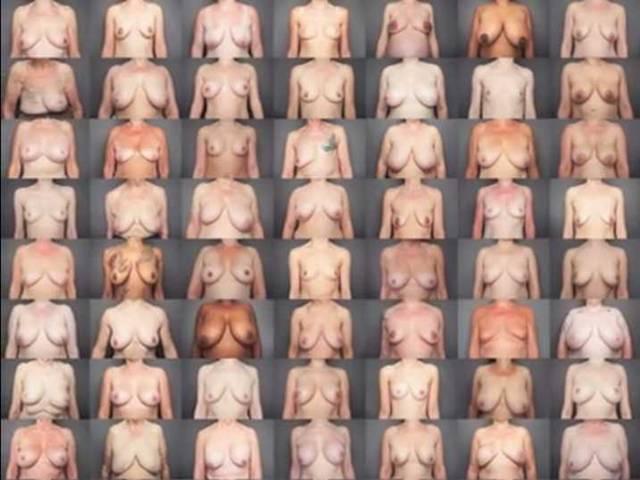videa nahých žen