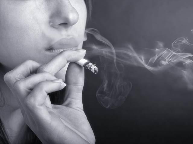 prsa kouření